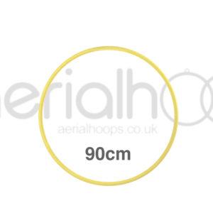 90cm zero point aerial hoop lyra circus yellow