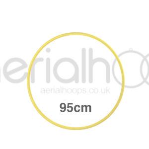95cm zero point aerial hoop lyra circus yellow