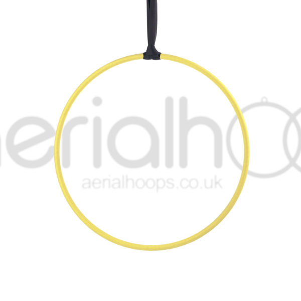 zero point aerial hoop lyra circus yellow
