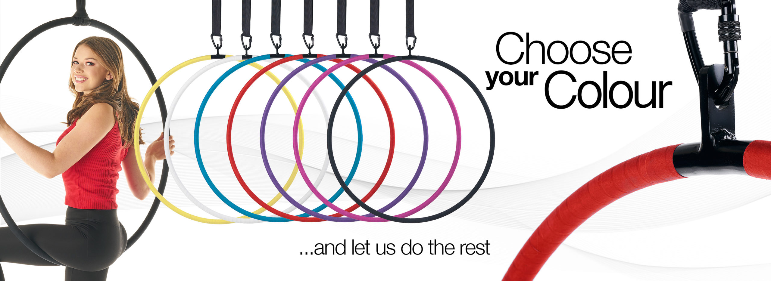 Aerial hoop lyra circus Choose Your Colour