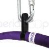 Aerial Hoop Sacrificial Layer tube carabiner hoop