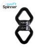 Aerial Swivel Swift Spinner 360 Black 25kn