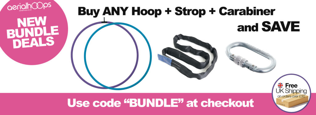 Aerial Hoop Bundle Deal Banner 2021